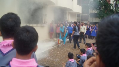 19th July 2019 Mock Fire Drill (Secondary)